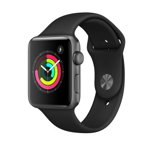 Apple Watch Series 3 GPS, 38mm Space Grey Aluminium Case