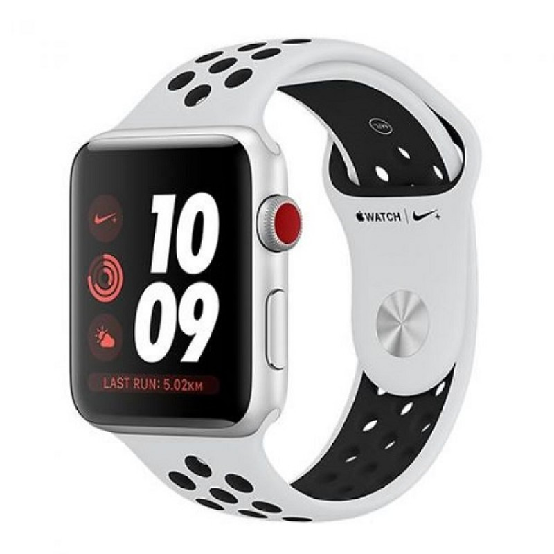 Apple Watch Series 3 GPS, 42mm Aluminium Silver Nike Platinum