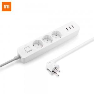 Xiaomi Разклонител Mi Power Strip 3 outlet, 3 USB